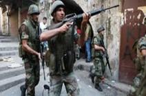 إصابة جنود لبنانيين في تفجير انتحاري شرق لبنان