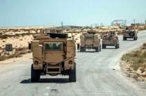"""الجيش المصري يعلن حصيلة """"سيناء 2018"""" في 40 يوما"""