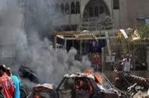 بالفيديو : 20 قتيلًا من الشرطة الهندية في تفجير بكشمير