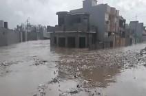 بالفيديو : مصرع 5 وتشريد المئات في سيول بالعراق