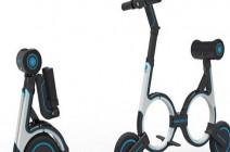 بالصور.. دراجة إلكترونية ذكية تحمل على الظهر!