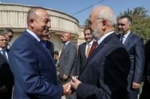 وزير الخارجية التركي يصل بغداد للقاء عدد من المسؤولين