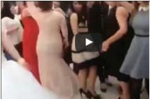 بالفيديو.. عريس وأصدقاؤه يتفوقون على عروس وصديقاتها في تحدي الرقص