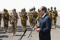 """السيسي يقر استحداث منصب """"مستشار عسكري"""" لكل محافظة"""