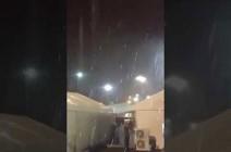 فيديو : امطار وعواصف رعدية في مكة والارصاد تحذر