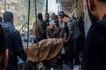 4 حالات اختناق إثر هجوم للنظام السوري بغاز سام في دمشق