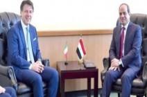 اتفاق مصري إيطالي على حل سياسي في ليبيا