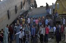 الكشف عن سبب خروج عربة قطار عن مسارها شمالي مصر