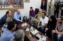"""شاهد : أردوغان يعزي أسرة رضيع سوري قتل بقصف """"قسد"""""""