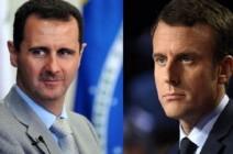 في حال فوزه.. محاور أساسية في تعامل ماكرون مع سوريا والأسد