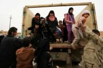 فرار أكثر من 180 ألف شخص جراء المعارك في الجانب الغربي للموصل
