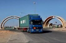 713 شاحنة للنقل البري بين العراق والاردن يوميا