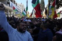 فيديو- الاف الفلسطينيين يُشاركون بتشييع شهيدي نابلس