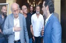 جنبلاط ونجله يزوران سعد الحريري للاطمئنان عليه