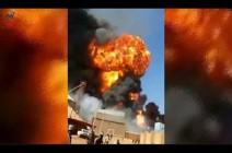بالفيديو : الخرطوم.. مصرع 6 وإصابة 42 إثر انفجار في مصنع