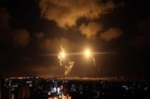 إسرائيل تضرب هدفين في قطاع غزة .. بالفيديو
