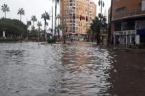 شاهد : قتلى وجرحى وانهيار عقارات في موجة طقس سيئ بمصر