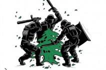 السلطات تنكل بالمحتجين في لبنان