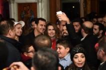 هإقرأ هكذا تلمع قناة العالم الايرانية الاسد و زوجته