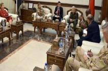 وزير الدفاع السوري يبحث مع وفد أممي فتح معبر بوابة القنيطرة مع إسرائيل
