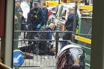 شرطة لندن تعتقل رجلا يحمل سلاحا أبيض قرب البرلمان