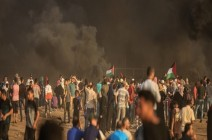 20 اصابة جراء اعتداء الاحتلال على مسيرات العودة شرق قطاع غزة