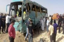 5 قتلى و65 مصابا في حادث تصادم حافلتين بمصر