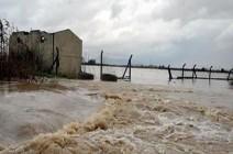 بالفيديو : نزوح المئات وتلف ألف دونم زراعي جراء السيول غرب بغداد