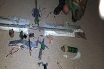 بالفيديو : الجيش السوري يسقط طائرة مسيرة في ريف حماة