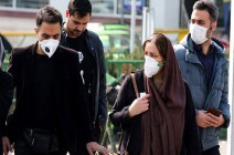 شاهد : مواجهات بين محتجين والشرطة بإيران