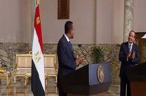 فيديو ..رئيس الوزراء الإثيوبي للسيسي: والله لن نضر مصر