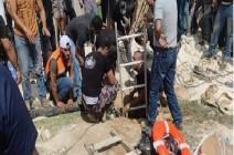 وفاة 6 أشخاص إثر سقوطهم في حفرة امتصاصية جنوب الخليل .. بالفيديو