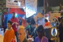 شاهد : التسجيل من ساحة التحرير وسط بغداد قبل قليل