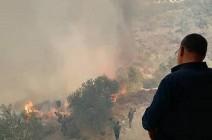 بالفيديو : وفاة شخصين وحالات اختناق وأراض صارت رمادا في سوريا