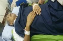 نجاة رئيس جامعة تعز من محاولة اغتيال (صور)