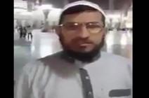 شاهد بالفيديو: شيعي من الحشد الشعبي يحرض الشيعة على قتل السنة من أمام المسجد النبوي