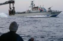 البحرية الإسرائيلية تعتقل 4 صيادين فلسطينيين قبالة شواطئ غزة