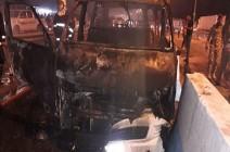 """""""داعش"""" يتبنى تفجير حافلة أسفر عن مقتل 12 شخصا في كربلاء أمس الجمعة"""