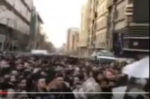 بالفيديو: تشيع جنازه هاشمي رفسنجاني