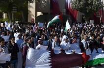طلاب جامعة قطر يطلقون حملة لمقاطعة منتجات أمريكا