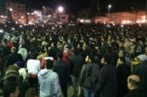 شاهد: تشييع جنازة شاب في سيناء بهتافات ضد الداخلية المصرية
