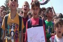 بالفيديو : بعد تظاهرات أهل إدلب.. شاهد ماذا يريد أطفالها؟