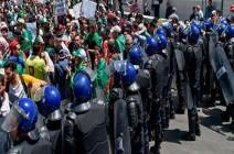 شاهد :  تظاهرة طلابية ضد رموز نظام بوتفليقة