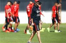 تشيلي لا تخشى أي ضغوط أمام الأرجنتين