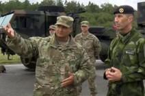 شاهد..  وحدات الدفاع الجوية من فرنسا والولايات المتحدة تشارك في مناورات بالسويد