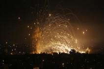 الجيش الإسرائيلي يشن سلسلة غارات عنيفة ومركزة شمالي قطاع غزة