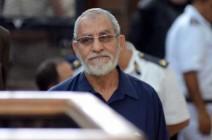 محكمة عسكرية مصرية تقضي بحبس مرشد الإخوان 10 سنوات