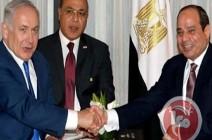 نتنياهو يلتقي سرا مع السيسي لترتيب هدنة مع حماس