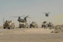 إمداد عسكري واستنفار أمني كبير بقواعد أمريكا بالعراق