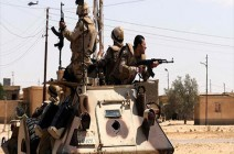 مقتل 38 مسلحا وإصابة شرطيين بسيناء والفيوم